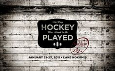 B/W US Pond Hockey #black #white #hockey
