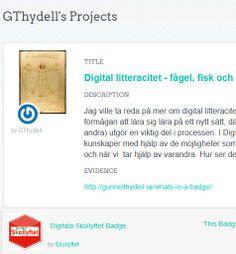 Gunnel Thydells (https://twitter.com/GunnelThydell ) badge http://badges.p2pu.org/en/dashboard/GThydell/badges on #digiskol. Bevis http://gunnelthydell.se/whats-in-a-badge/