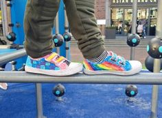 DIY Je eigen schoenen kleuren Running Shoes, Diys, Sneakers, Fashion, Runing Shoes, Tennis, Moda, Slippers, Bricolage