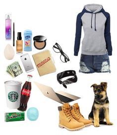 """""""writng"""" by writingismydreams ❤ liked on Polyvore featuring beauty, River Island, Christian Dior, Bobbi Brown Cosmetics, Suave, MAC Cosmetics, Timberland and claire's"""