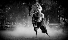 """""""... É onde se agarra um quebra que tenha sangue nos olhos, pois um covarde se achica quando um malo se embodoca... Aos gritos de vira a frente, a cavalhada entra em forma e o índio que sabe as normas não refuga o que lhe toca ..."""" Fragmento de """" Das volteadas de uma estância"""" de Rogério Villagran Dom Pedrito, Rio Grande do Sul, Brasil https://www.picturedashboard.com"""