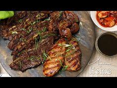 Galbi (Kalbi) Korean Marinated Rib BBQ Recipe & Video - Seonkyoung Longest