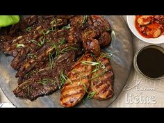 Galbi (Kalbi) Korean Marinated Rib BBQ Recipe & Video - Seonkyoung Longest