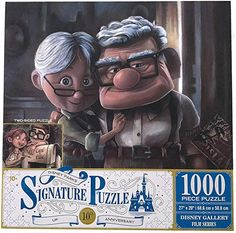 "Carl & Ellie ""Up"" Disney Gallery 1000 piece Signature puzzle"