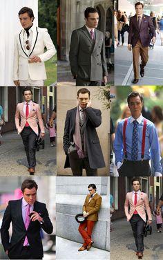 chuck bass costume | ... -vous à la manière de...Chuck Bass ~ Striped Tie, blog mode homme