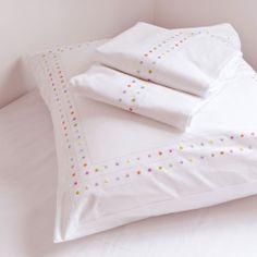 Zara Home kids Nursery Bedding Sets Girl, Best Bedding Sets, Girls Bedroom, Bedrooms, Bed Sheets Online, Cheap Bed Sheets, Zara Home Kids, Polka Dot Bedding, Zara Home Collection