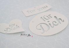 Fräulein An: DIY | Für Dich - Geschenkanhänger