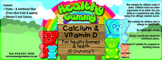 Calcium and Vitamin D for strong bones +27 (16) 9311939