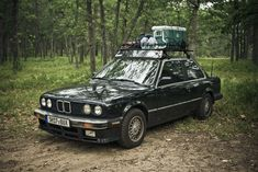BMW E30 3 Series - Camping edition. Please tell me after they put the cooler at the camp sit they go hooning