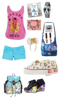 """""""Disney happen to me"""" by elleciaann-marie0530 ❤ liked on Polyvore featuring Disney, Vans and dELiA*s"""