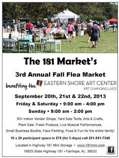 Fairhope Supply Co.: 181 Fall Flea Market