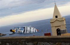 Cruise ship Costa Concordia  capt abandoned ship