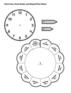 Paper Plate Clock Activity for Learning to Tell Time