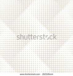 Vector seamless pattern. Modern stylish texture. Repeating geometric tiles with dotted zigzag. Monochrome background with halftone effect. Contemporary graphic design.