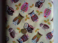 Owl Fabric £2.00