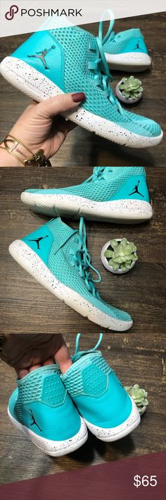 a20708de2debd6 Nike Air Jordan Reveal Sneaker Size 9.5 Turquoise Nike Air Jordan Reveal  Lifestyle Sneakers Men Size