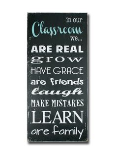classroom rules, sign, - Barn Owl Primitives, vintage wood signs, typography decor,