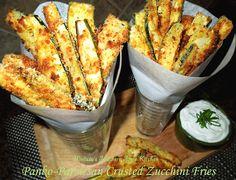 Panko-Parmesan Crusted Zucchini Fries @melissasssk