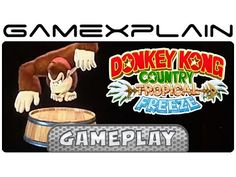 Donkey Kong Country: Tropical Freeze - Toy Figurine Tour (Funky Kong's C...