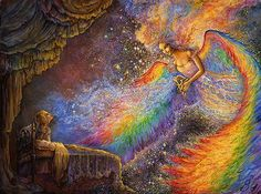 Josephine Wall: Healing Angel