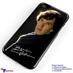 Benedict Cumberbatch Sherlocks Holmes - Personalized iPhone 7 Case, iPhone 6/6S Plus, 5 5S SE, 7S Plus, Samsung Galaxy S5 S6 S7 S8 Case, and Other