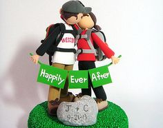 hiking cake topper - Google Search