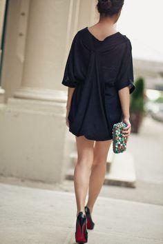Soyer tunic w/ F21 skirt underneath