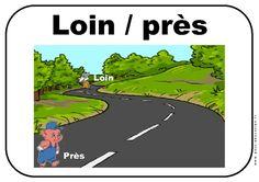 Près – Loin – Affichages pour la classe – Maternelle – PS – MS – GS – Pass Education