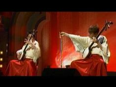 Yoshida Brothers, who play Tsugaru shamisen, using this instrument with  traditional to create  music:      Abeya, I think, sticks to more traditional sounds, though they also compose new pieces and sometimes improvise entirely. Love<3