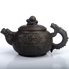 XDOBO China Yixing Purple Clay Teapot, Chinese Dragon Pattern, Full-handmade Pottery with Built-in Filtering Holes at the Spout, Chinese Kungfu Teapot (Black Dragon Ball Pot) XDOBO http://www.amazon.ca/dp/B00UTF96H4/ref=cm_sw_r_pi_dp_nusIwb0ASC3F7