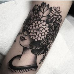 New addition to my sleeve by Myra Oh from Diadem Tattoo in Jacksonville…