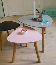 bijzettafeltje van Sostrene Grene / small tables #SostreneGrene #Sostrene