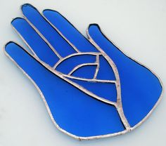 Hamsah  charm wall hanging stained glass Hamsa 850x by Galleros, $25.00