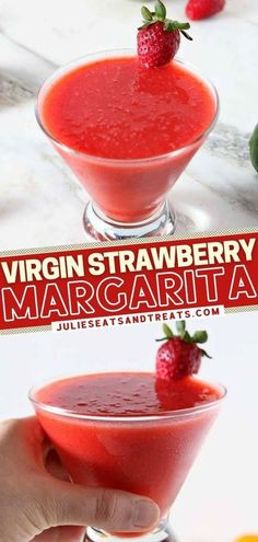 Virgin Strawberry Margarita is a New Year's Eve party drink for everyone! 6 ingredients are all you need to have a non-alcoholic version of the classic cocktail. Plus, you can easily double this vegan� More