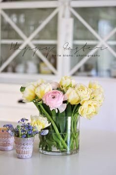 BELLE BLANC: Flower Power Easter