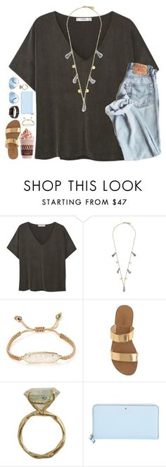 chasing stars by julesamber ❤ liked on Polyvore featuring MANGO, Godiva, Feather Stone, Kendra Scott, J.Crew, By Emily, Kate Spade and Ray-Ban