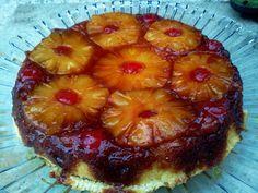 Receita de Receita de Bolo Caramelado de Abacaxi