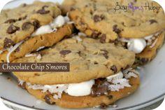 Chocolate Chip SMores on MyRecipeMagic.com