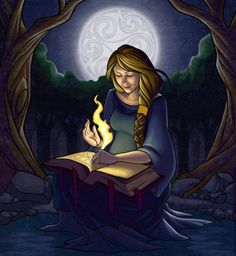 Brigid embodies the motherly qualities of a woman. She is goddess of fertility and healing and will often preside over the births of children, She is also the patron of craftsman and artisans, and goddess of the forge. It is in her aspect of goddess of the forge that she forged the magnificent sword Excalibur. Brigid is celebrated at Imbolc during which time her snake comes out of the mound in which it hibernates. Its behavior determines the remaining length of winter.