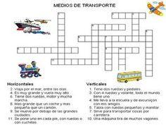 Los transportes (ficha de vocabulario)