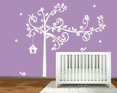 Childrens Tree Decal Vinyl Wall Decals Children by ModernWallDecal