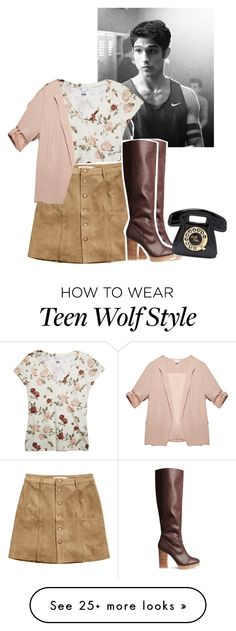 """""""Date with Scott McCall"""" by lydiamartinisbetterthanyou on Polyvore featuring Wet Seal, H&M, Forever 21, TeenWolf and ScottMcCall"""