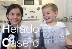 Helado casero de Platano y Chocolate | Recetas Clean Eating | FitFood Kids