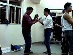 Rare video of Wing Chun Grandmaster Ip Ching doing Chi Sao, US Wing Chun visits VTAA - YouTube
