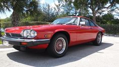 Car brand auctioned:Jaguar XJS Rouge Collectors Edition Collectors edition Rouge, very clean