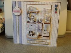 Made with Hunkydory - Spring decoupage
