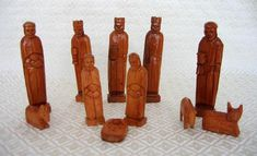 Guatemalan Cypress Nativity.  (I have this one from 20 years ago.)