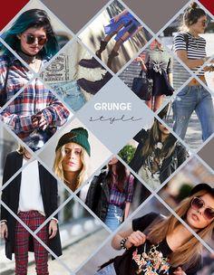 Estilo Grunge na moda
