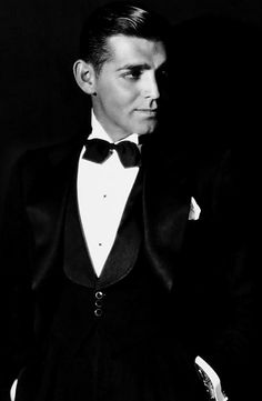Clark Gable, 1931   Without the moustache. Wow