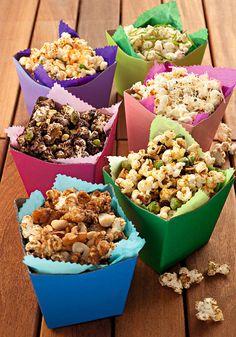 Festival da pipoca: prepare diferentes versões desta delícia